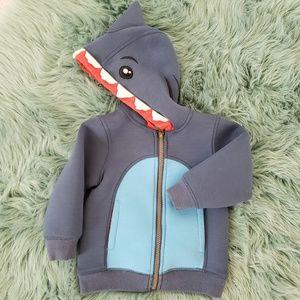 Shark Zip Up Hoodie